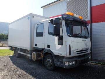 Iveco 80E22 2008. Skap-/ mannskapsbil / Iveco transport and personel.