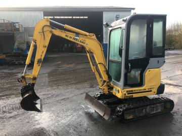 New Holland  E18 SR minigraver / mini excavator