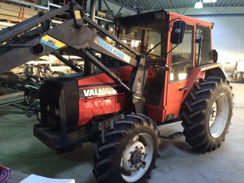 Valmet Traktor 505 Turbo (1986) till salu. På Retrade kan du köpa begagnade maskiner, utrustning ...