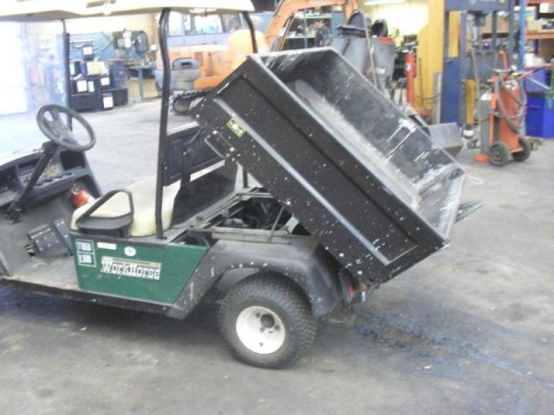 WORK HOUSE El-vogn/golfvogn til salg. På Retrade kan du købe brugt udstyr, maskiner, køretøjer ...
