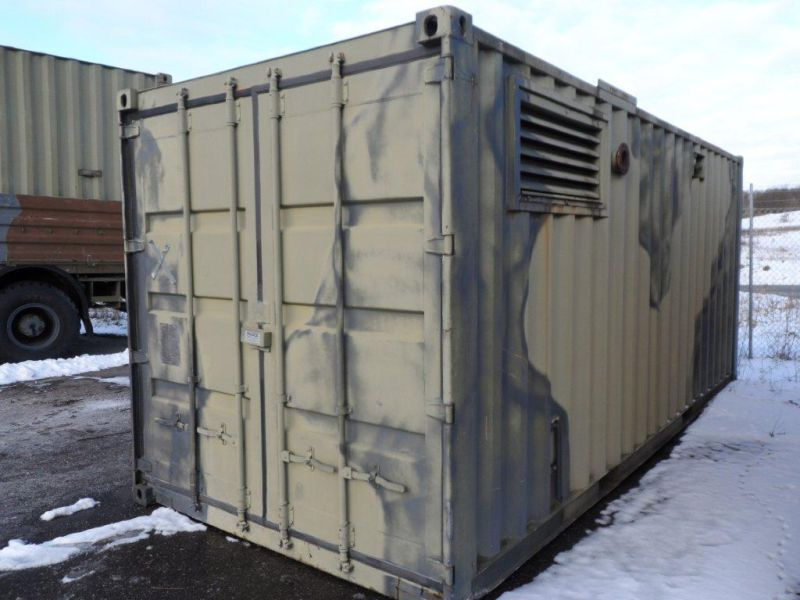 20 fods container med 2 stk. 60 kW Type-09D generatorer - 10