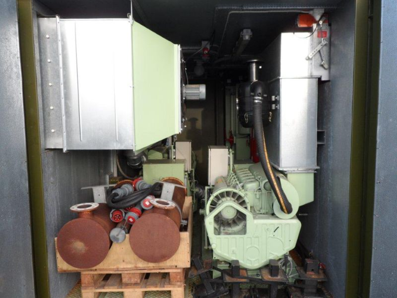 20 fods container med 2 stk. 60 kW Type-09D generatorer - 12
