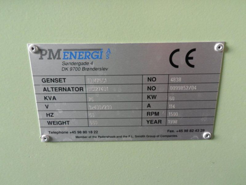 20 fods container med 2 stk. 60 kW Type-09D generatorer - 17