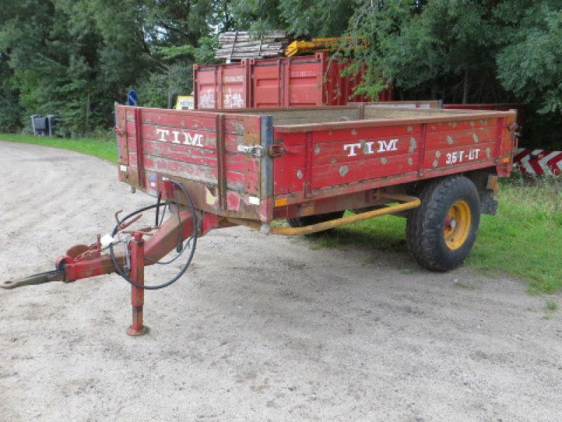 Tim tipvogn 3,5 T BT till salu. På Retrade kan du köpa begagnade maskiner, utrustning, fordon ...