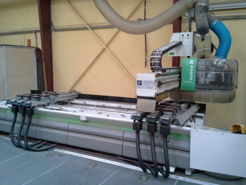 Bresse CNC fræser til træ og alu / Bresse CNC milling machine for wood and Alu til salg. På ...