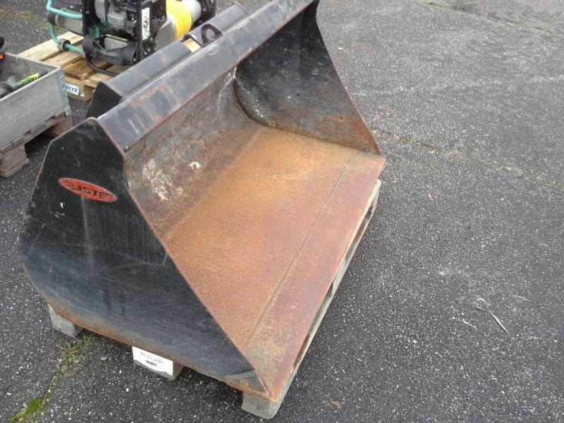 JST skovl til Schaffer minilæsser / JST shovel for a Schaffer mini loader for sale. Retrade ...
