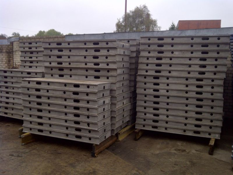 Clean aluminium Hünnebeck TOPEC Formworkssystem, 1137 pcs, good condition - 1