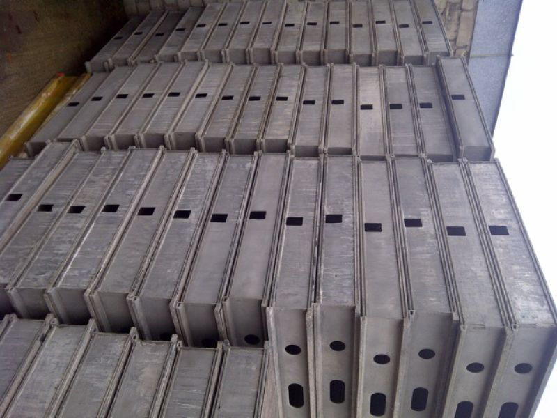 Clean aluminium Hünnebeck TOPEC Formworkssystem, 1137 pcs, good condition - 6