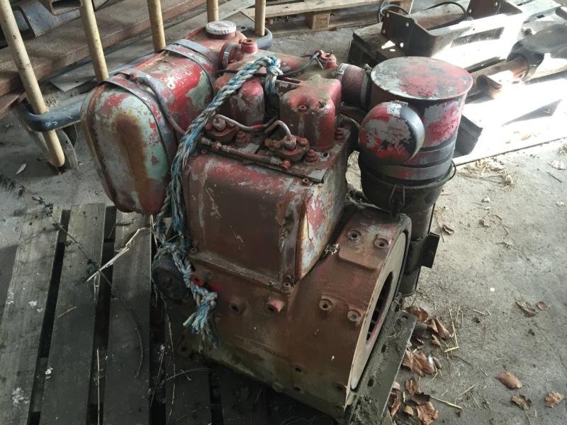 Hatz 2 Cylinderet Diesel Motor    Hatz 2