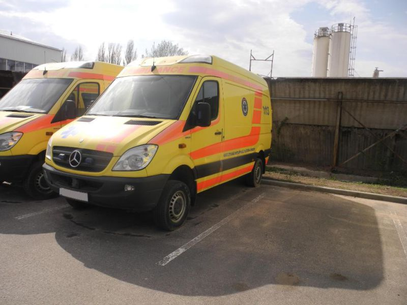 Mercedes Benz Sprinter 316 4x4. Ambulance. - 1