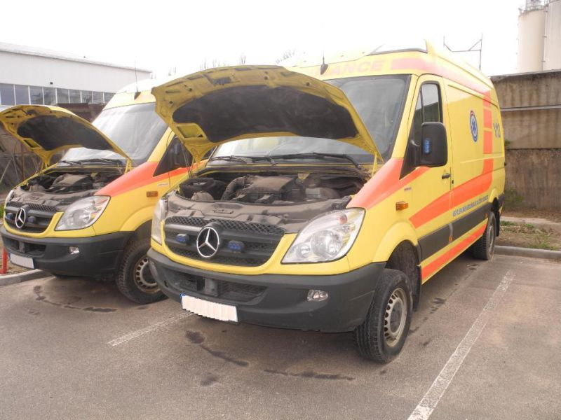 Mercedes Benz Sprinter 316 4x4. Ambulance. - 25