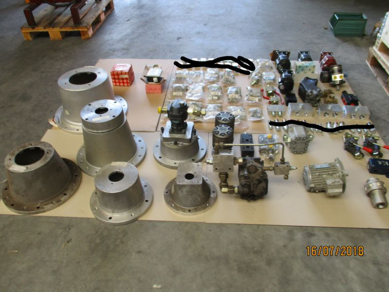 Hydraulik komponenter, Pumper, motorer med mere / Hydraulic Components, Pumps, Engines and more - 0