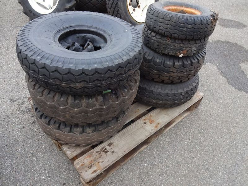 Dæk på fælge / Tires on rims - 18