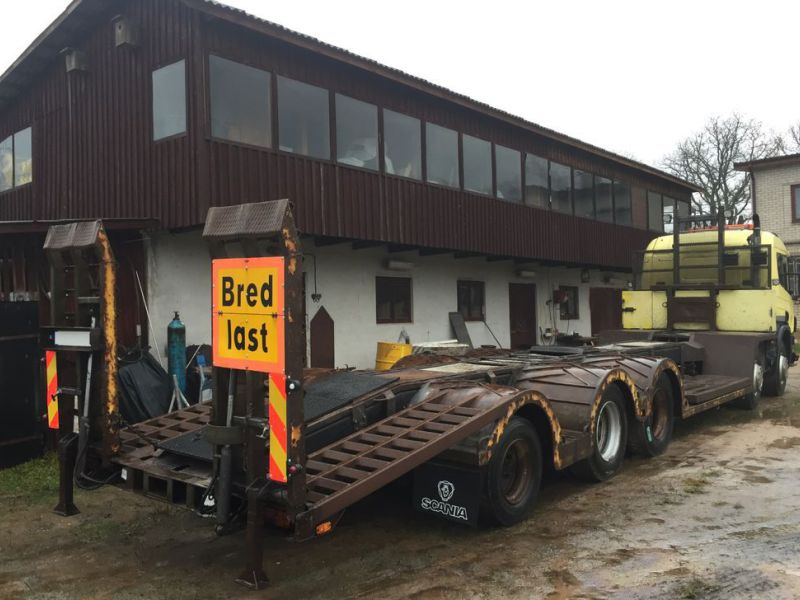 Heavyweight trailer SCANIA P124G 10x4 400hp - 10