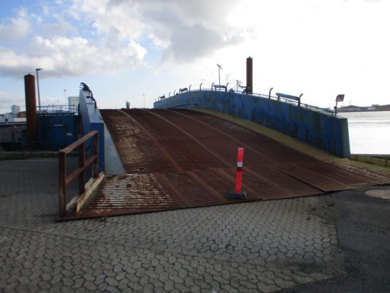 Rampe RoRo flydende / Floating RoRo Ramp - 1