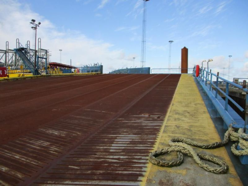 Rampe RoRo flydende / Floating RoRo Ramp - 19