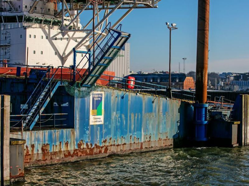Rampe RoRo flydende / Floating RoRo Ramp - 76