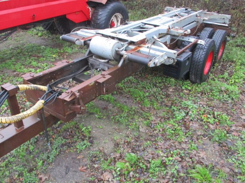 Lastbilvogn m/wirehejs / Truck carriage with wire hoist - 0