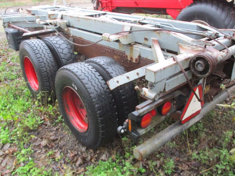 Lastbilvogn m/wirehejs / Truck carriage with wire hoist - 7