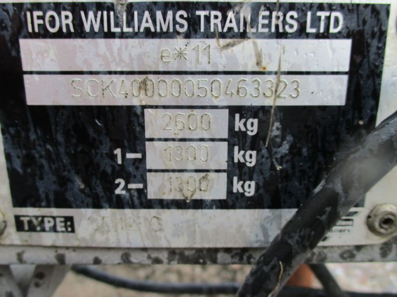 Ifor Williams trailer - 12
