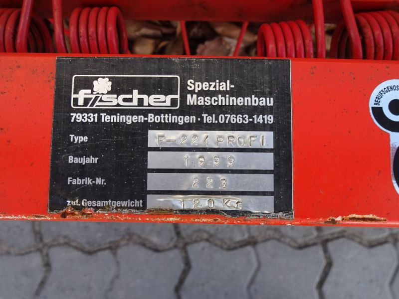 Fischer ukrudtsstrigle/harve / Harrow - 3