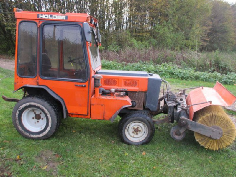Holder P 70 MINITRAKTOR MED STENSBALLE KOST 130 CM / MINI TRACTOR with Sweeper - 5