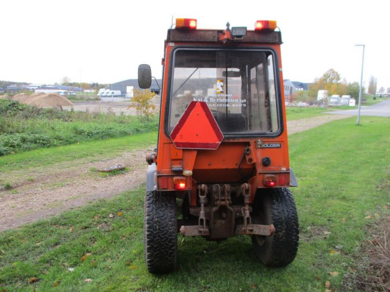 Holder P 70 MINITRAKTOR MED STENSBALLE KOST 130 CM / MINI TRACTOR with Sweeper - 8