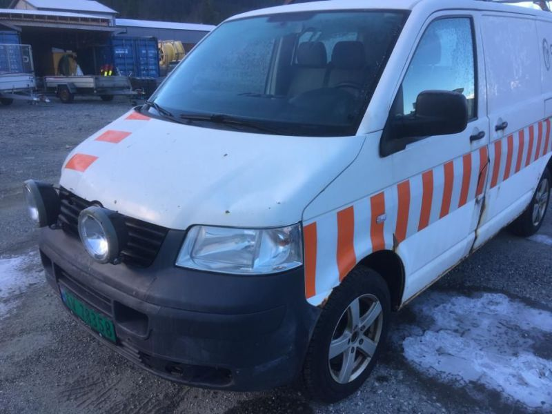 VW transporter varebil - 0