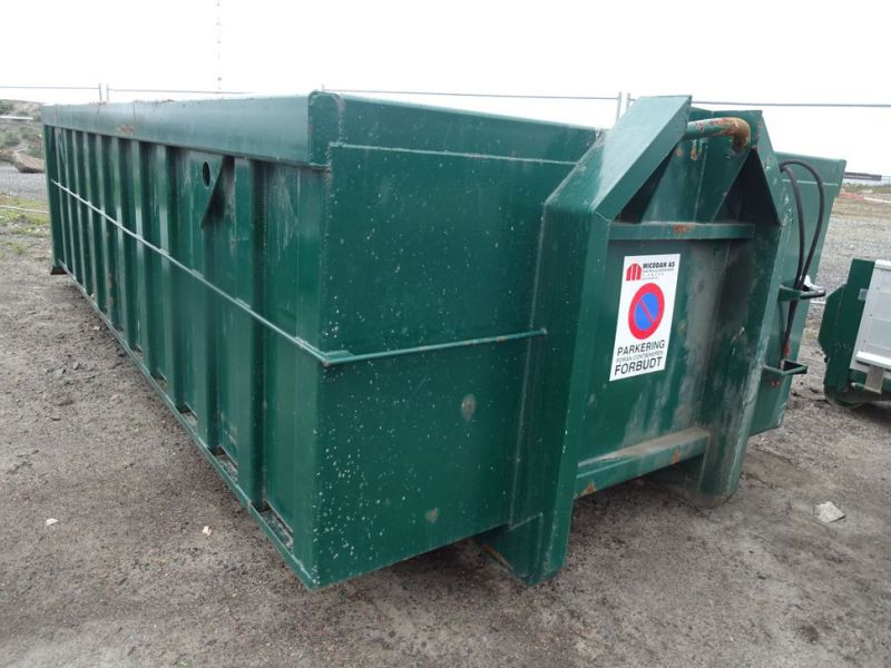 Flaklad 14 m3 med faste sider og hydraulisk bagklap / Swift body with hydraulic tailgate - 4