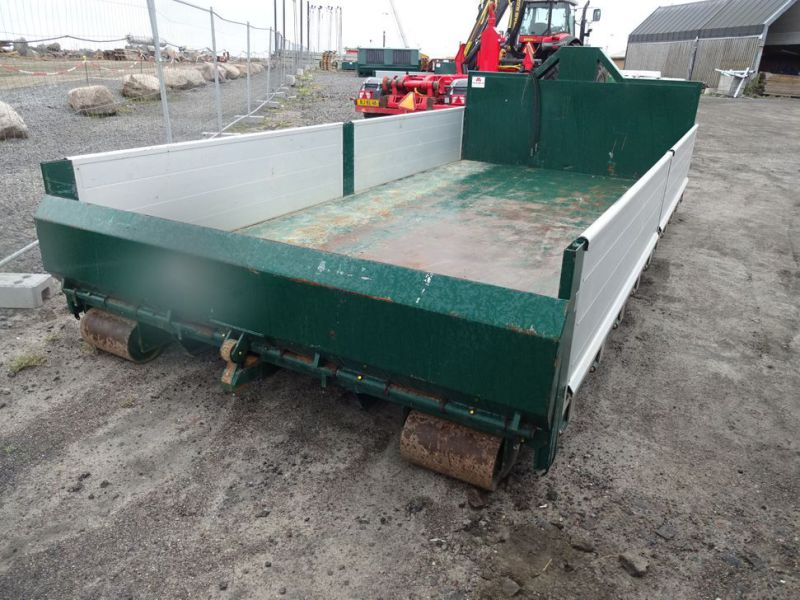Flaklad med alu-sidefjæle, hydraulisk bagklap / Swift body with alu sides and hydraulic tailgate - 5