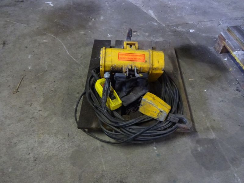 Hydraulisk bomspil og Elspil / Winch for excavator and electric winch  - 2