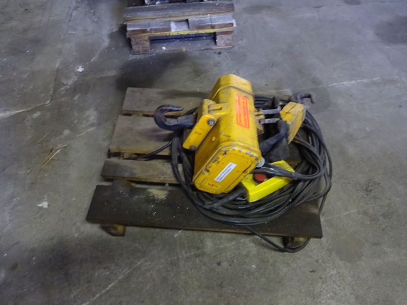 Hydraulisk bomspil og Elspil / Winch for excavator and electric winch  - 3