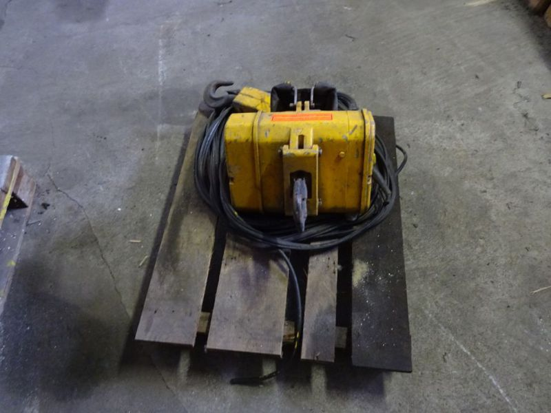 Hydraulisk bomspil og Elspil / Winch for excavator and electric winch  - 4
