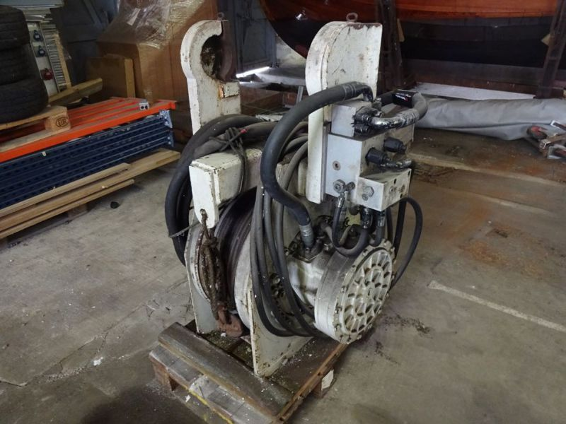 Hydraulisk bomspil og Elspil / Winch for excavator and electric winch  - 8