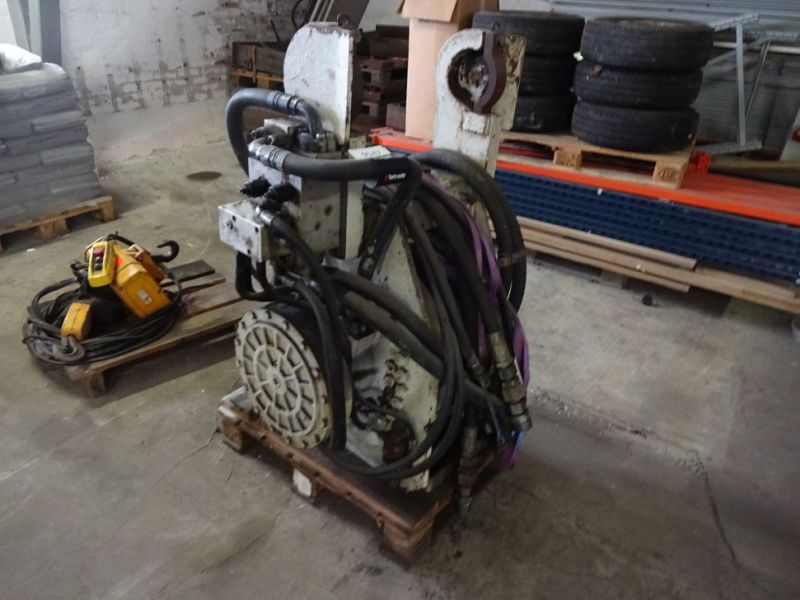 Hydraulisk bomspil og Elspil / Winch for excavator and electric winch  - 9