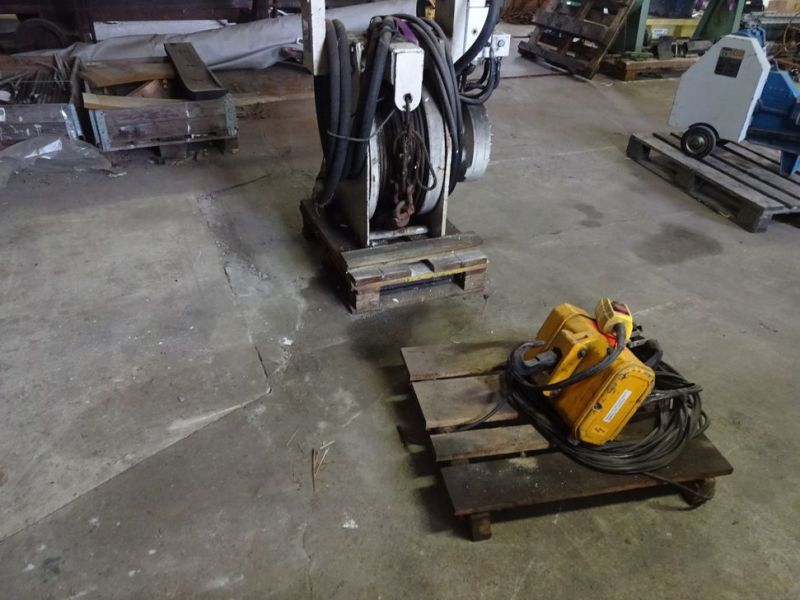 Hydraulisk bomspil og Elspil / Winch for excavator and electric winch  - 14