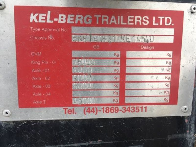 Kelberg tipper trailer - 5