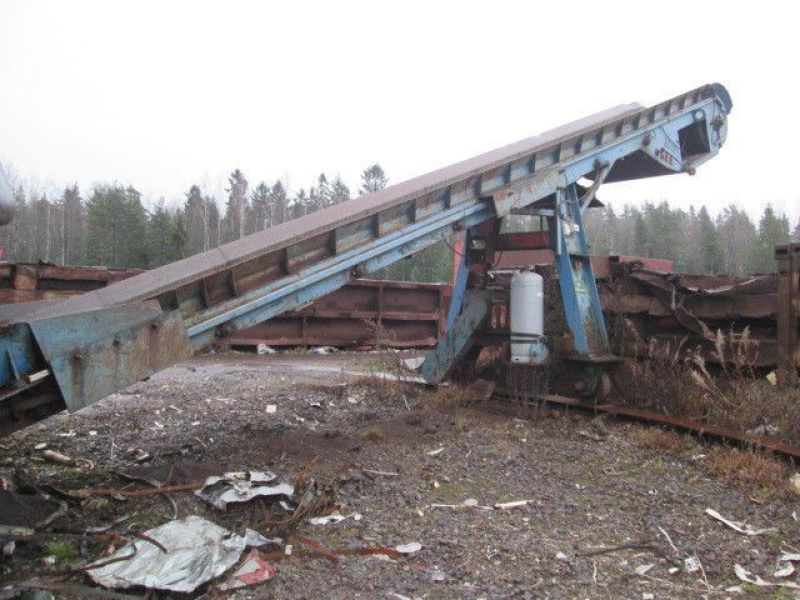 Skrotsax med kran/Scrap shear with crane - 79