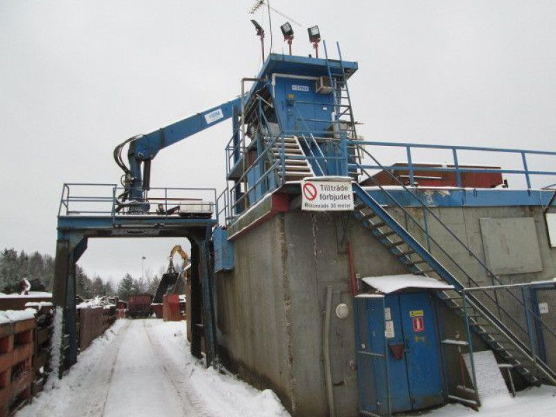 Skrotsax med kran/Scrap shear with crane - 88