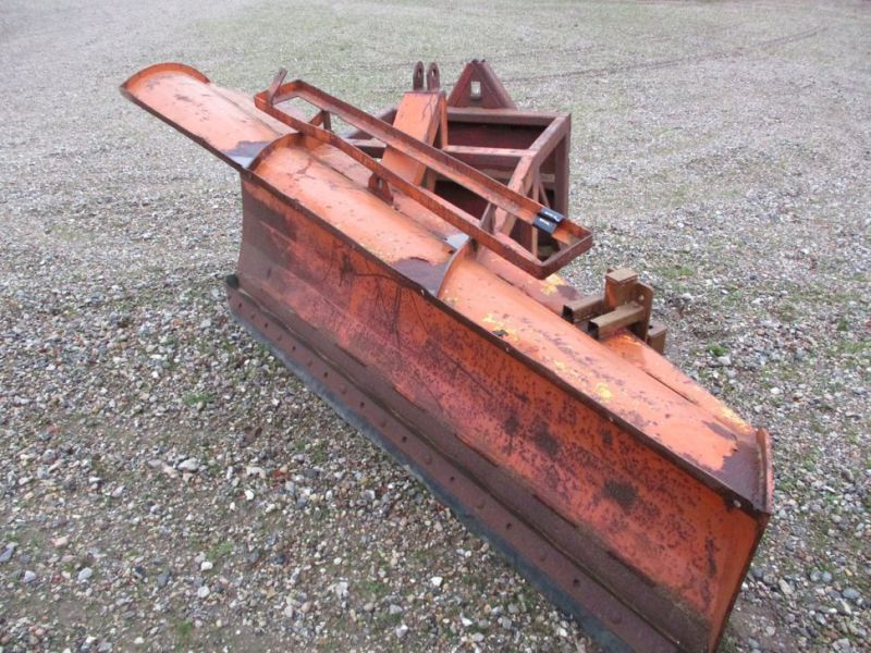 Sneplov 3 meter monteret med A-ramme / Snowplow with a frame - 2