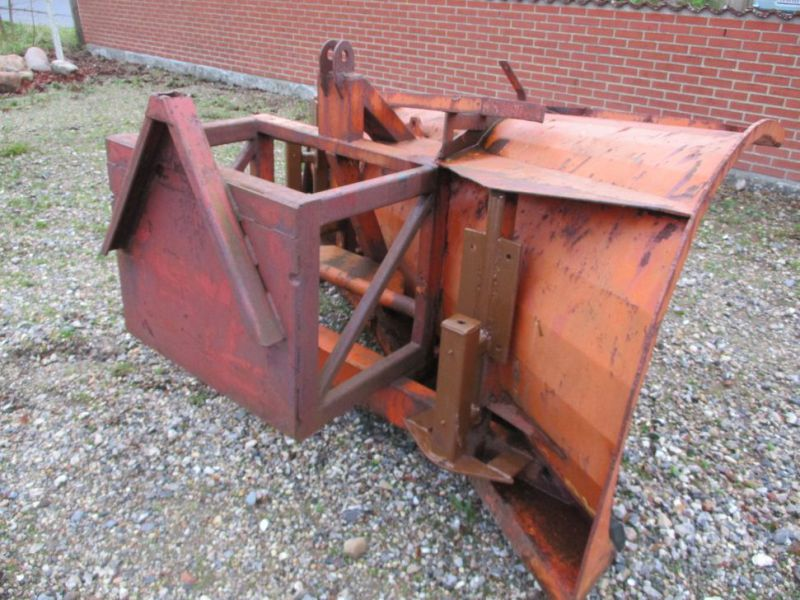 Sneplov 3 meter monteret med A-ramme / Snowplow with a frame - 4
