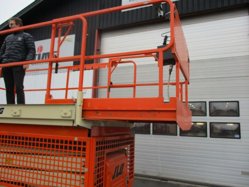 JLG 3369LE Elektrisk Sakslift / Electric Scissor lift 12 meters working hight - 13