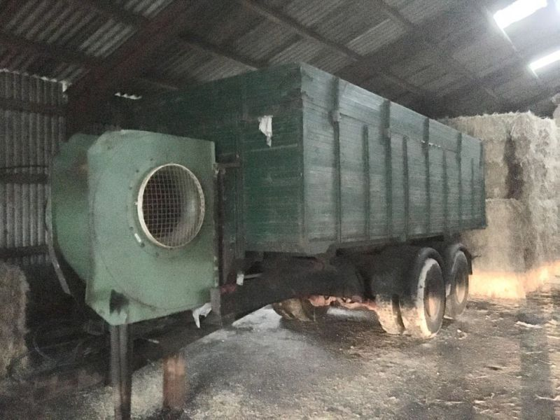 Kornvogn med tører / Garin wagon with dryer - 0