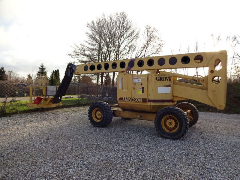 Knækbomlift 21 meter Grove AMZ68XT / Articulated boom lift - 4