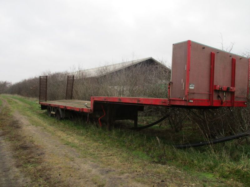 Wabco maskin trailer med ramper / Machine trailer with ramps - 0
