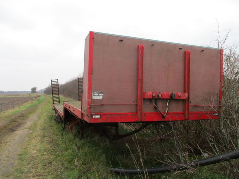 Wabco maskin trailer med ramper / Machine trailer with ramps - 1