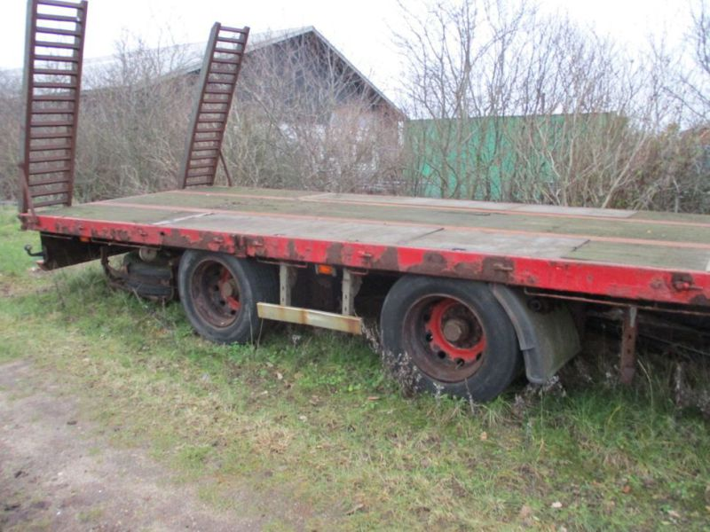 Wabco maskin trailer med ramper / Machine trailer with ramps - 5