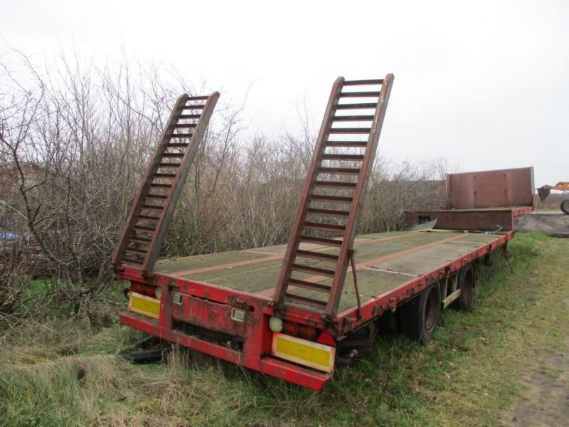 Wabco maskin trailer med ramper / Machine trailer with ramps - 6