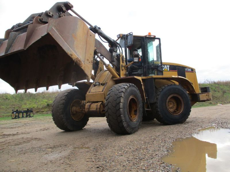 CAT IT38G Hjullæsser med skovl / CAT Wheel loader with bucket - 7