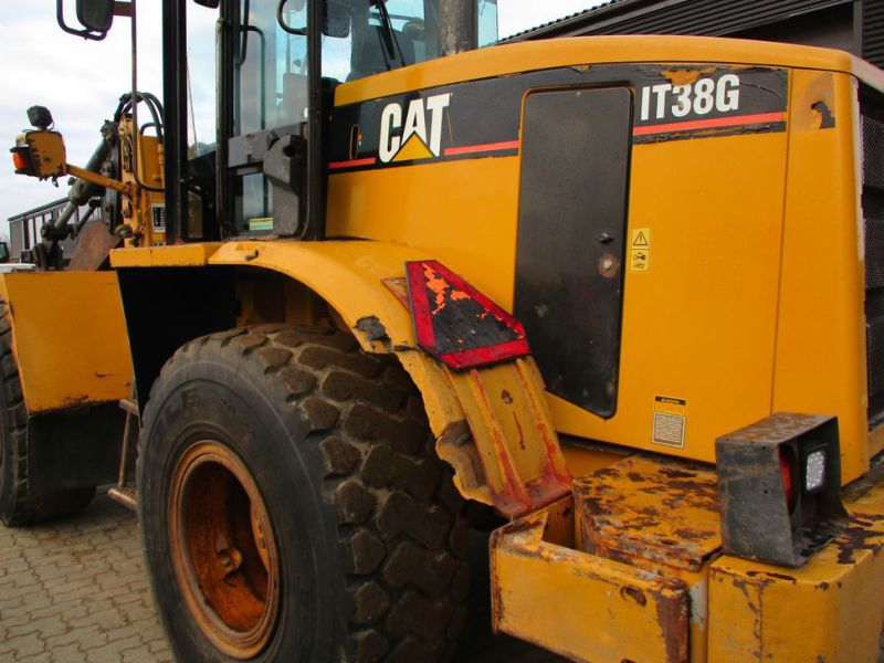 CAT IT38G Hjullæsser med skovl / CAT Wheel loader with bucket - 1